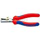 Knipex KN-1112160. Клещи с накатанной головкой и контргайкой для удаления изоляции KNIPEX 11 12 160