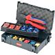 Knipex KN-979021. Набор кабельных наконечников с инструментом для опрессовки, для кабельных наконечников KNIPEX 97 90 21