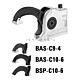 Зажим BAS-C compact, крепежное отверстие разрезное BAS-C10-6