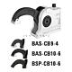Зажим BAS-CB compact, крепежное отверстие сквозное BAS-CB10-6