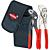 Knipex KN-002072V01. Мини-инструменты в мягком футляре KNIPEX 00 20 72 V01